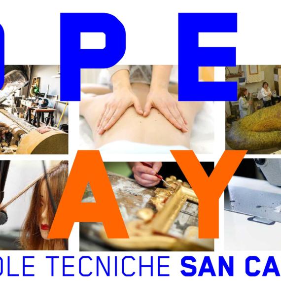 OPEN DAY DELLE SCUOLE SAN CARLO!!