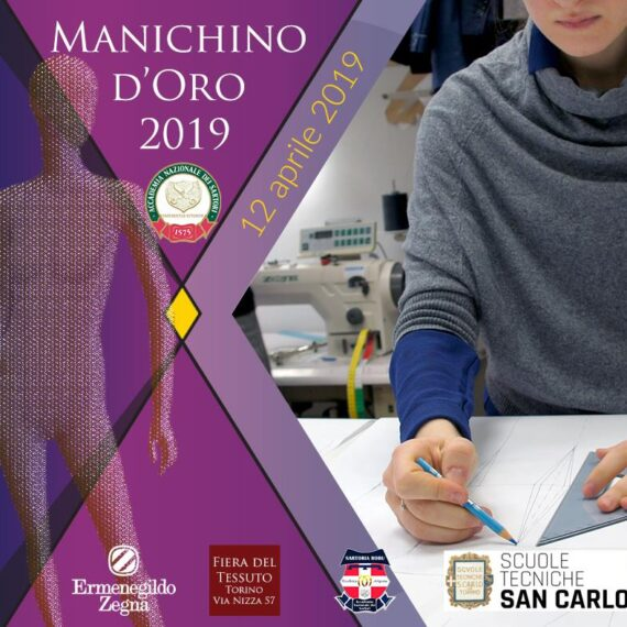 Concorso IL MANICHINO D'ORO- SELEZIONI REGIONALI edizione 2019