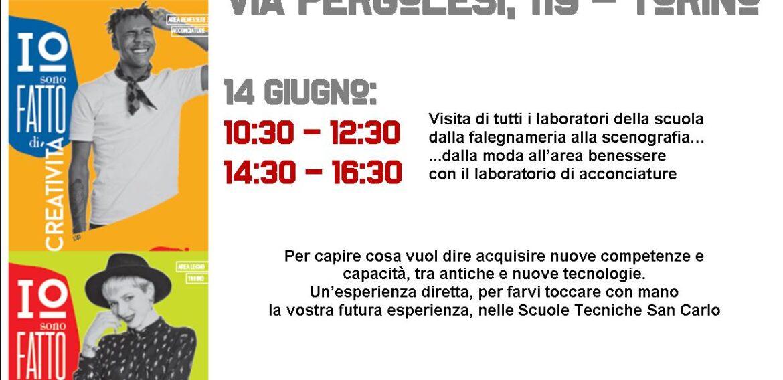 OPEN DAY!  14 GIUGNO : PORTE APERTE + SFILATA DI FINE ANNO!! VI APETTIAMO!